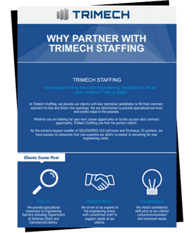 TriMech Staffing Infographic
